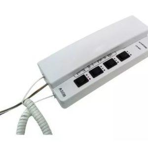 Interfone 4 ranais CS-04T para Intercom MV-02